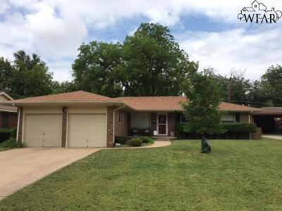 Wichita Falls Single Family Home For Sale: 4909 Neta Lane