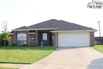 Wichita County Single Family Home For Sale: 2 Callie Court