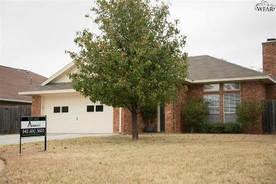Wichita Falls Single Family Home For Sale: 3600 Alexandria Street