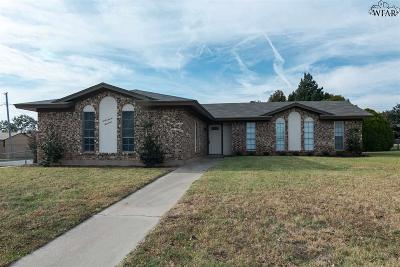 Wichita Falls Single Family Home For Sale: 4700 Tammy Drive