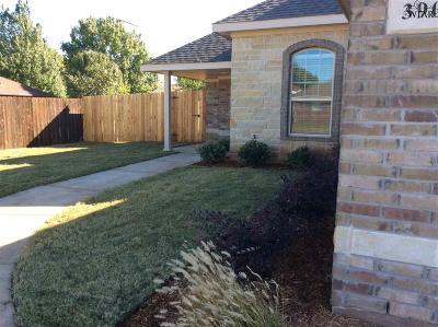 Wichita Falls Single Family Home For Sale: 3903 Alexandria Street