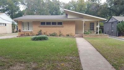 Wichita Falls Single Family Home For Sale: 2416 Clarinda Avenue