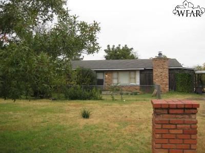 Wichita Falls Single Family Home For Sale: 6622 Rosemont Road