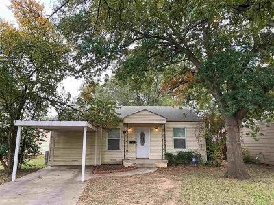 Wichita Falls Single Family Home For Sale: 3215 Glenwood Avenue