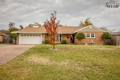 Wichita Falls Single Family Home For Sale: 4913 George Street