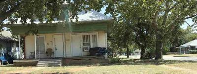 Wichita Falls Multi Family Home For Sale: 1313 Burnett Street