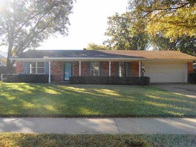 Wichita Falls Single Family Home For Sale: 4107 Ashgrove Drive