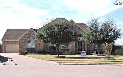 Wichita Falls Single Family Home For Sale: 4 Sage Brush