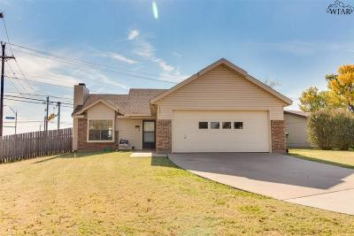 Wichita Falls Single Family Home For Sale: 4101 Beard Avenue