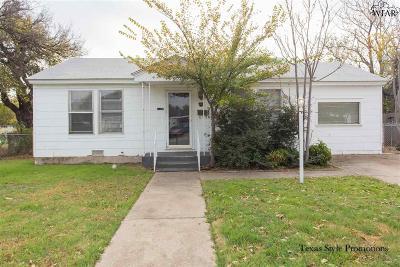 Wichita Falls Single Family Home For Sale: 2943 Elliott Street