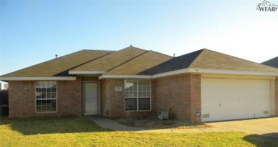 Wichita Falls Single Family Home For Sale: 5425 Carlson Street