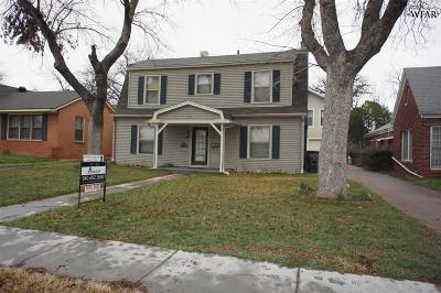 Wichita County Rental For Rent: 2002 Speedway Avenue