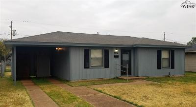 Wichita Falls Single Family Home For Sale: 3026 Lavell Avenue