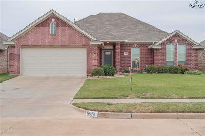 Wichita Falls Single Family Home For Sale: 5014 L B Drive
