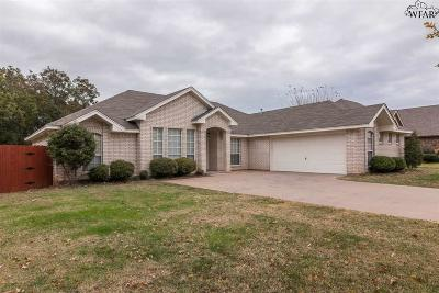 Wichita Falls Single Family Home For Sale: 1724 Rockridge Drive