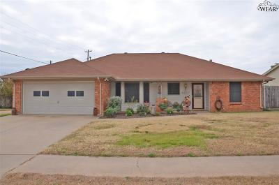 Wichita Falls Single Family Home For Sale: 4817 Eldorado Drive