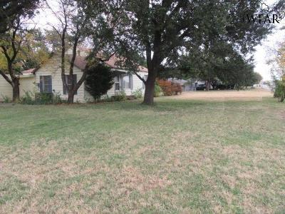 Wichita Falls TX Single Family Home For Sale: $122,500