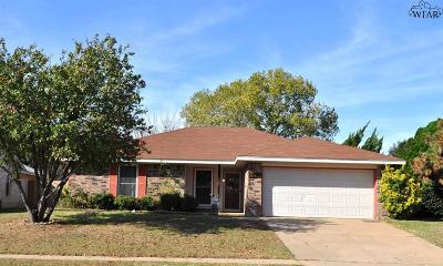 Wichita Falls Single Family Home For Sale: 5520 Rhone Drive