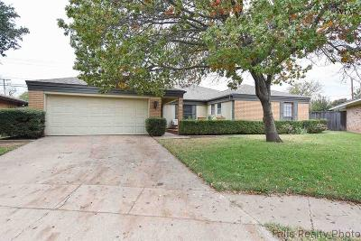 Wichita Falls TX Single Family Home For Sale: $178,500