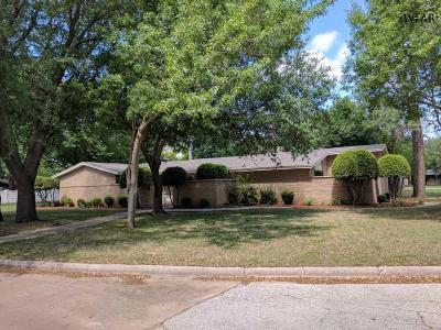 Wichita Falls Single Family Home For Sale: 2604 Amherst Drive