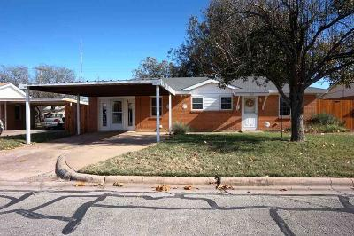 Wichita Falls Single Family Home For Sale: 1619 Covington Street