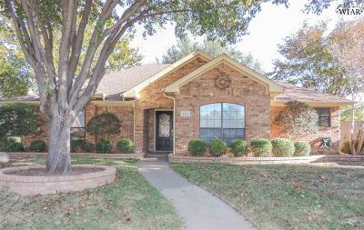 Wichita Falls TX Single Family Home For Sale: $174,900