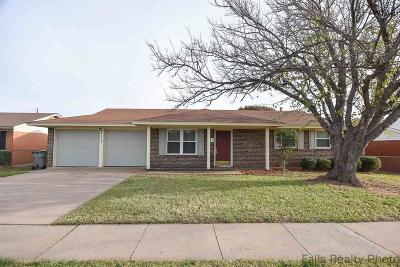 Wichita Falls TX Single Family Home For Sale: $93,500