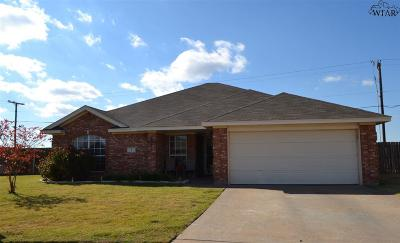 Wichita Falls Single Family Home For Sale: 5 Libby Court