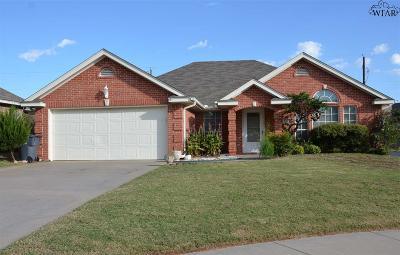 Wichita Falls TX Single Family Home For Sale: $179,500