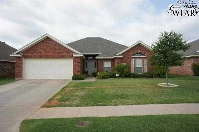 Wichita County Rental For Rent: 6025 Natchez Trace