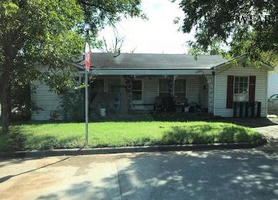 Wichita Falls TX Single Family Home For Sale: $55,900