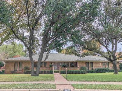 Wichita Falls Single Family Home For Sale: 2420 Brentwood Drive