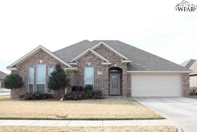 Wichita Falls Single Family Home Active-Contingency: 5018 Caden Lane