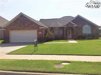 Wichita Falls Single Family Home For Sale: 8 St Andrews Court