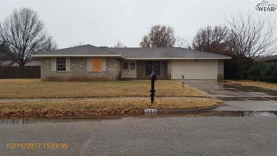 Wichita Falls Single Family Home For Sale: 4818 Melissa Lea Lane