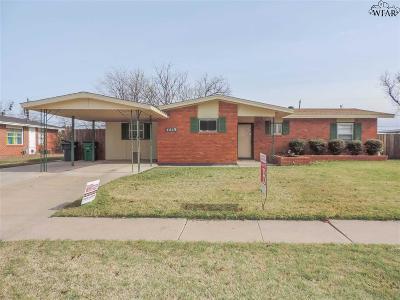 Wichita Falls Single Family Home For Sale: 4619 Stanford Avenue