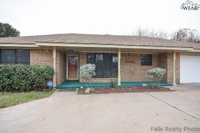 Wichita Falls TX Single Family Home For Sale: $162,000