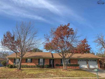 Wichita Falls Single Family Home For Sale: 1812 Ridgemont Drive