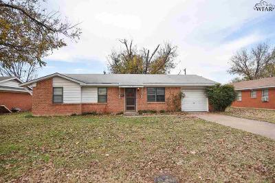 Wichita Falls Single Family Home For Sale: 1422 Phoenix Drive