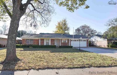 Wichita Falls Single Family Home For Sale: 4207 Seymour Road