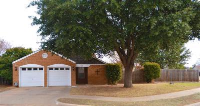 Wichita Falls TX Single Family Home For Sale: $121,000