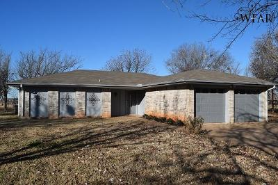 Iowa Park Single Family Home For Sale: 2150 Bridwell Road