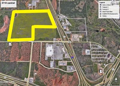 Wichita Falls Residential Lots & Land For Sale: 3110 Central Freeway