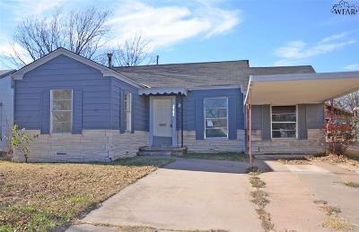 Wichita Falls Single Family Home For Sale: 2702 Lawrence Road
