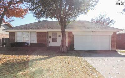 Wichita Falls Single Family Home For Sale: 1603 Aldrich Avenue