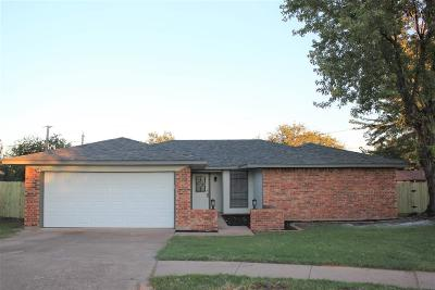 Wichita Falls Single Family Home Active W/Option Contract: 3 St Stephens Court