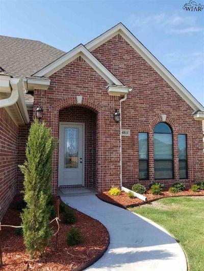 wichita falls Single Family Home For Sale: 4811 Silvercrest Drive