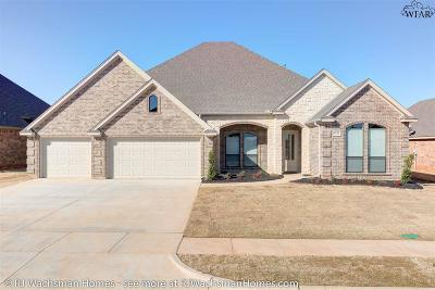wichita falls Single Family Home For Sale: 5136 Cathedral Lane