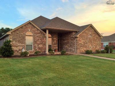 Burkburnett Single Family Home Active W/Option Contract: 1111 Chaparral Court