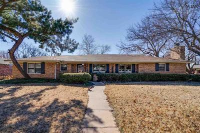 Wichita Falls Single Family Home For Sale: 1537 Mesquite Street
